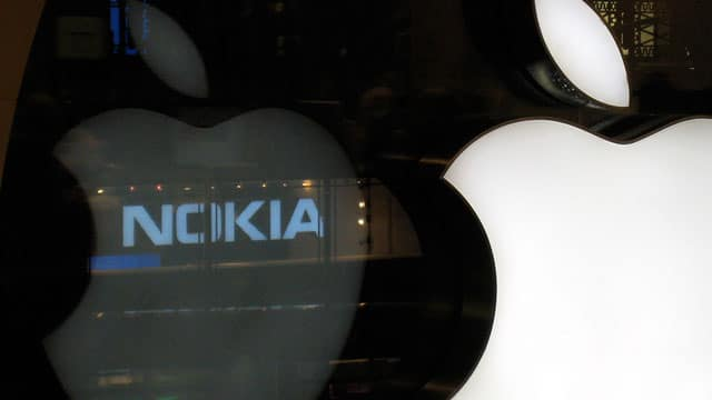 nokia apple 2 millairds accord