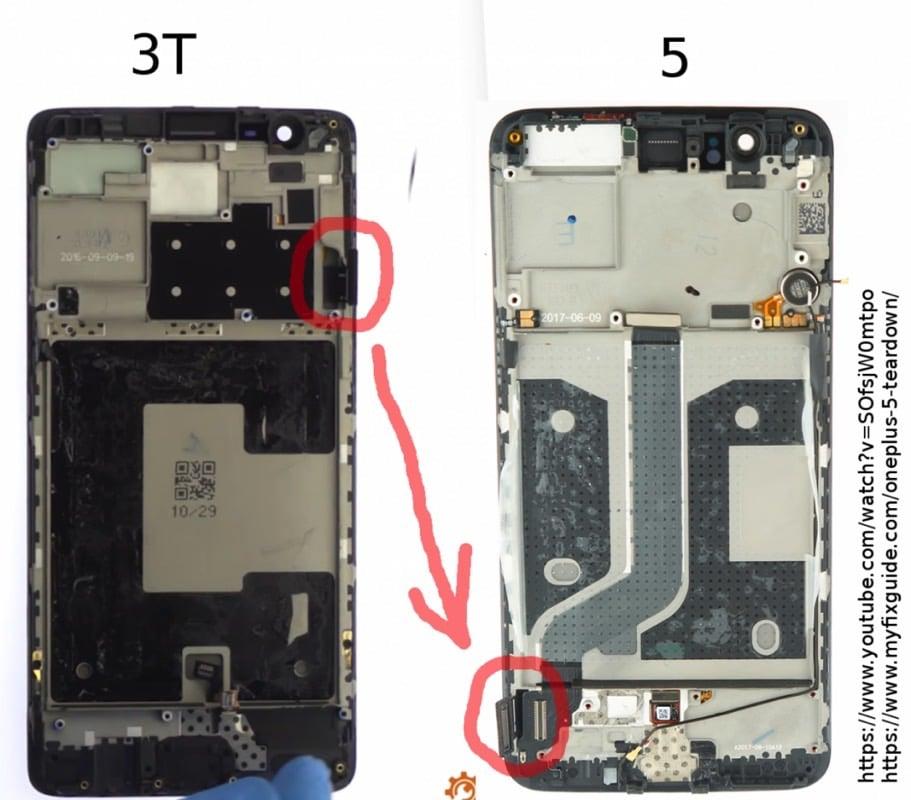 one plus 5 apple iphone 7