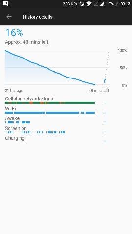 oneplus 5 bug redémarrage problème 911 autonomie batterie