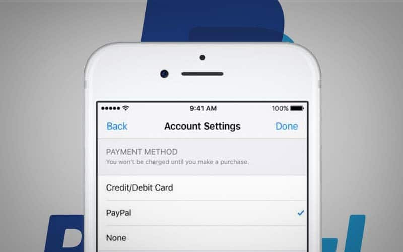 paypal app store apple