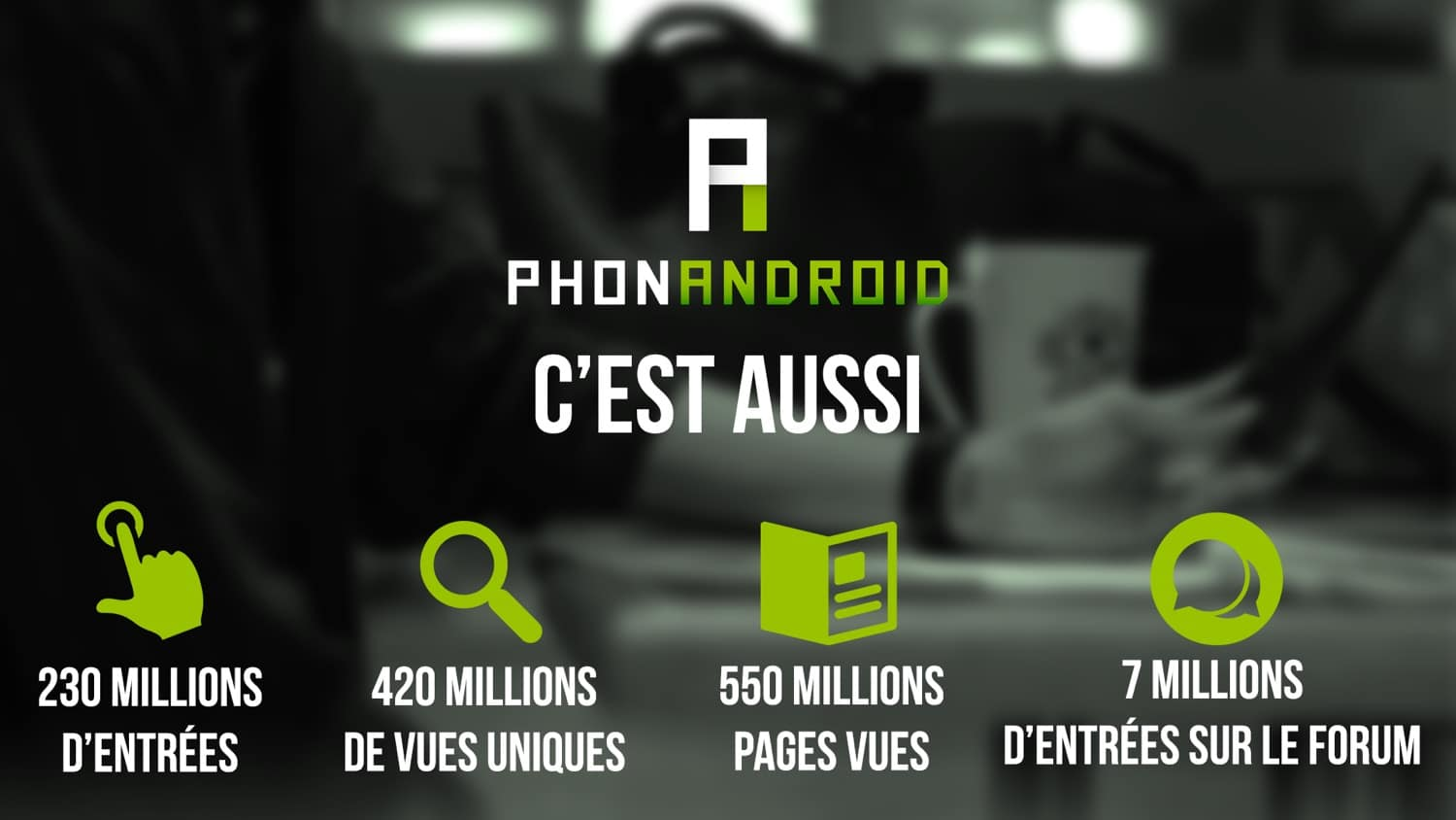 phonandroid chiffres traffic