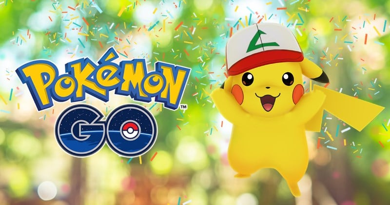 pokemon go anniversaire