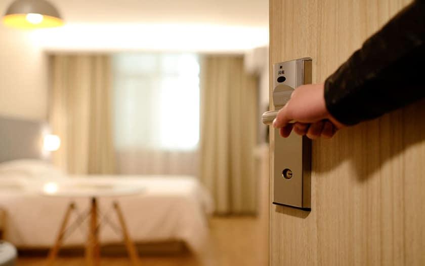 réserver hôtel android