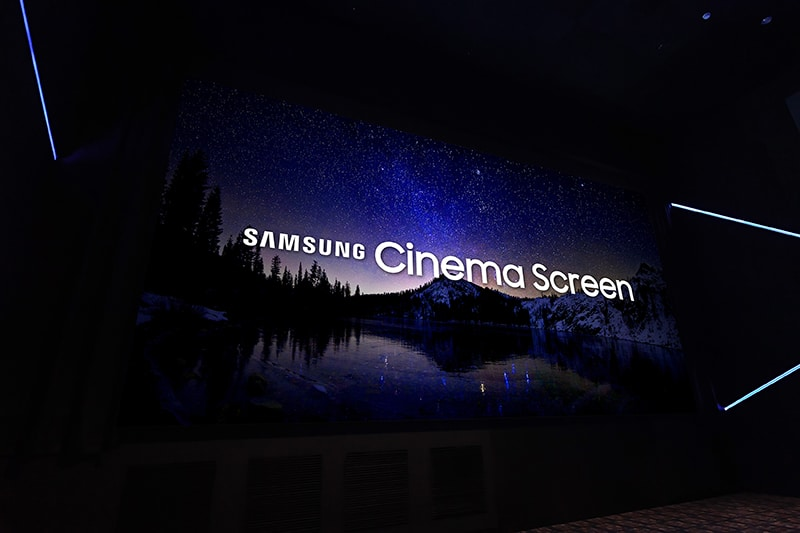 samsung electronics écran cinéma led 4k