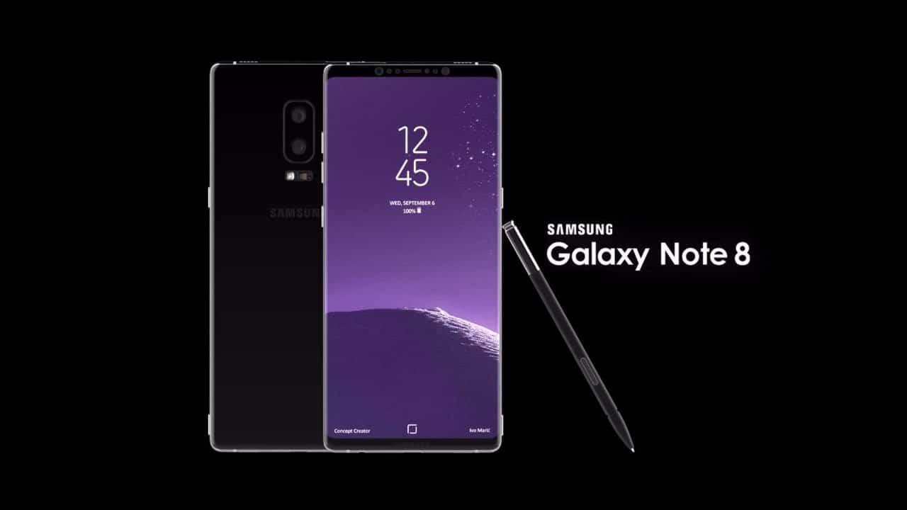samsung galaxy note 8 lancement avancé