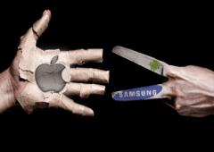 samsung reprend place leader apple