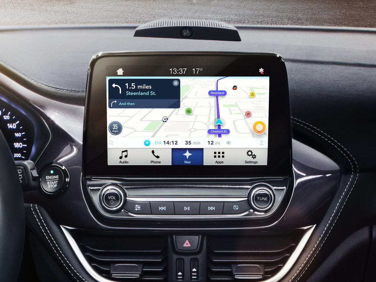 android auto waze est d sormais disponible. Black Bedroom Furniture Sets. Home Design Ideas