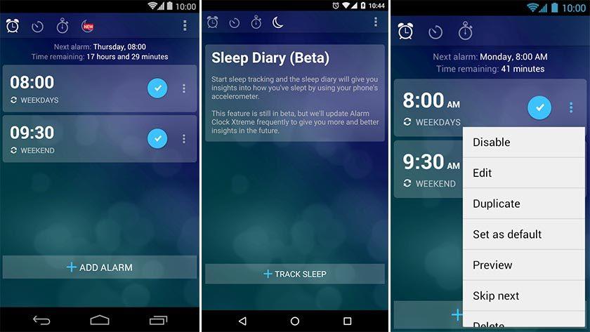 Réveil Musique Xtreme Gratuit tracker de sommeil android