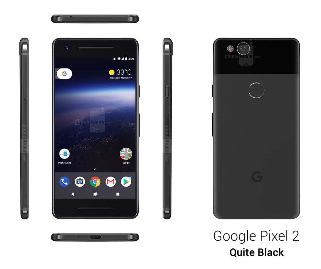 Google pixel 2quite black