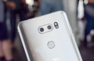 LG V30 double capteur photo