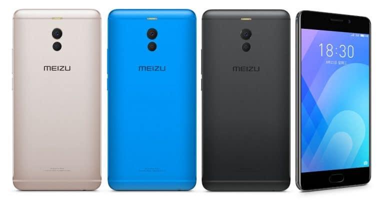 Meizu M6 Note design prix fiche technique