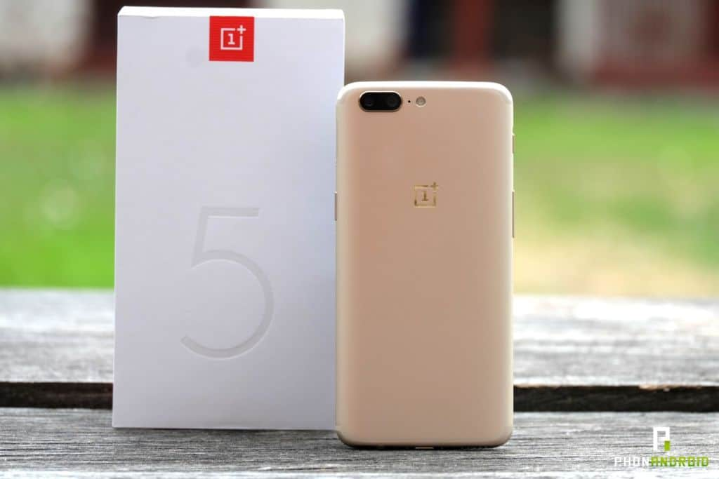 oneplus 5 gold version or