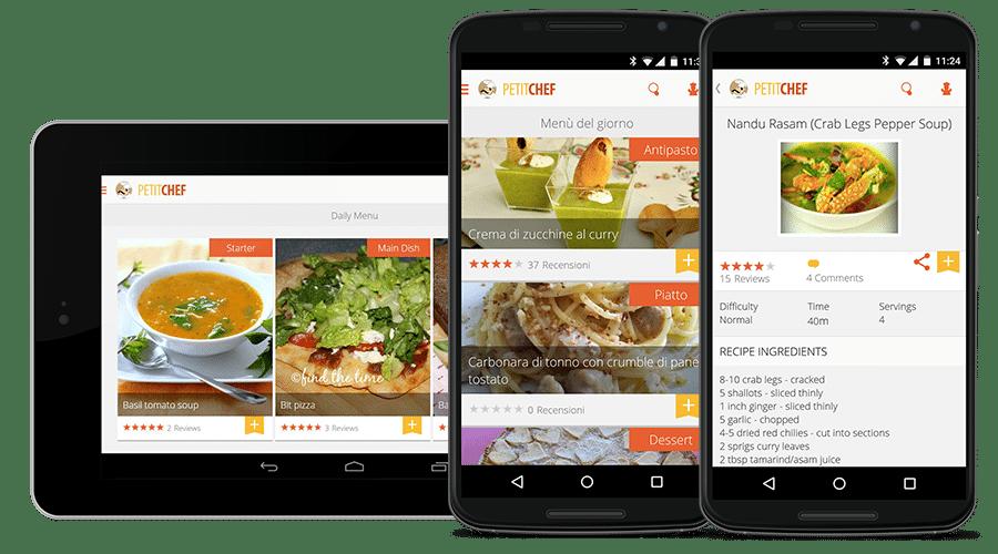 PetitChef android cuisine