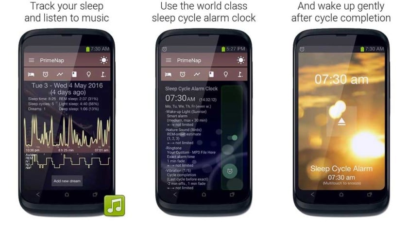 sleep tracker de sommeil android