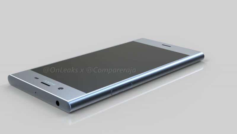 Sony Xperia XZ1 rendu 3D
