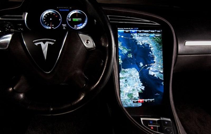 Tesla model s nvidia