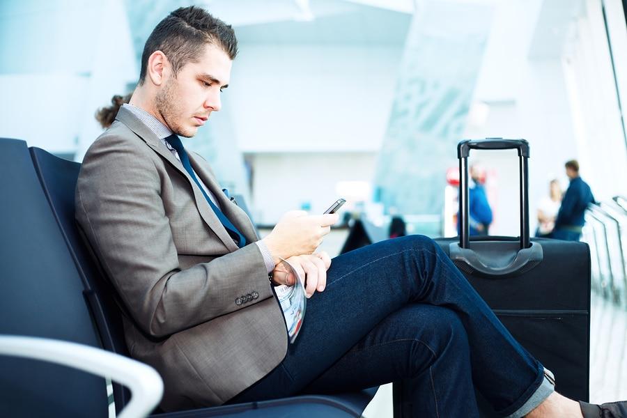 aéroport smartphones