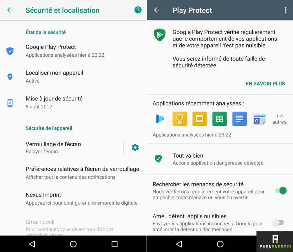 android 8 oreo google play protect