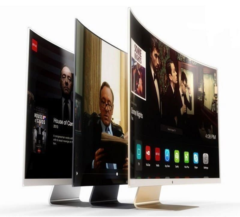 apple tv television ecran