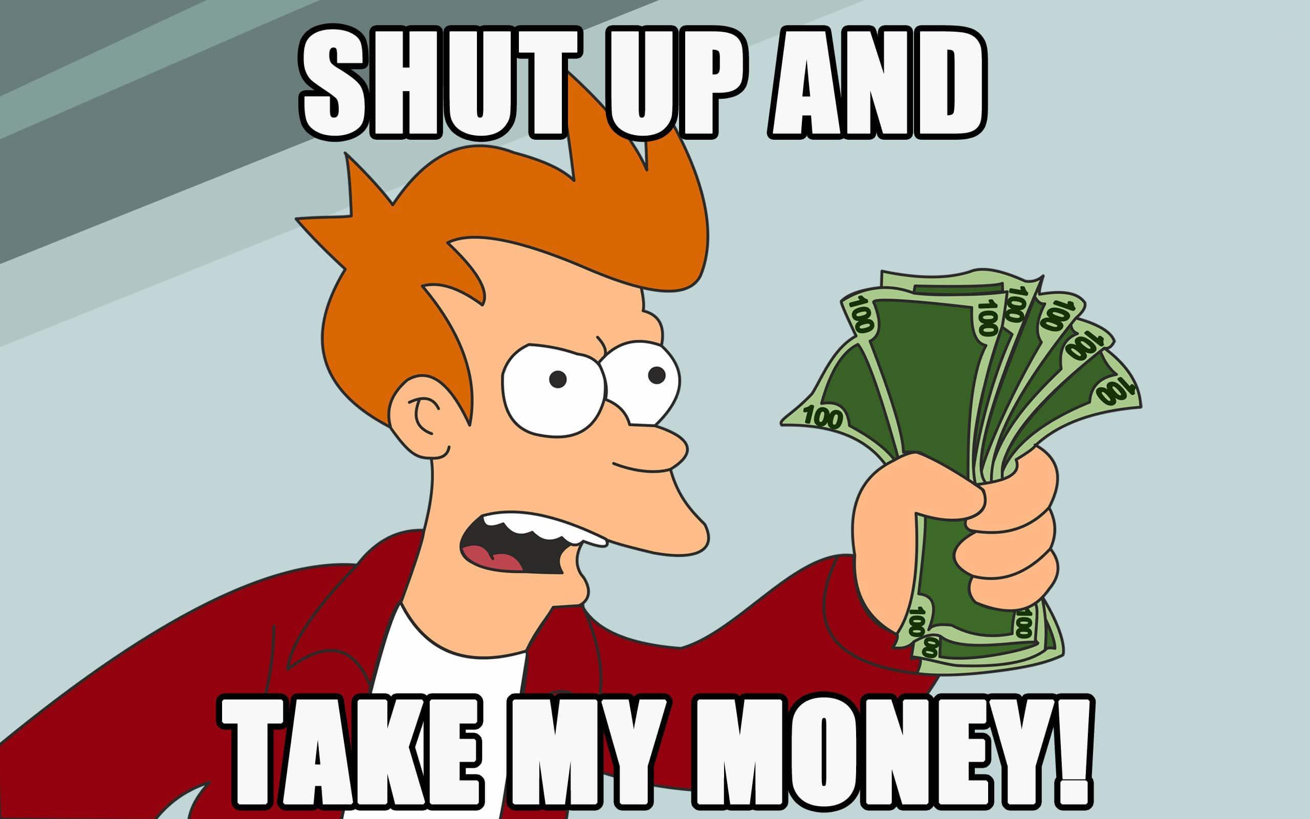 argent shopping en ligne
