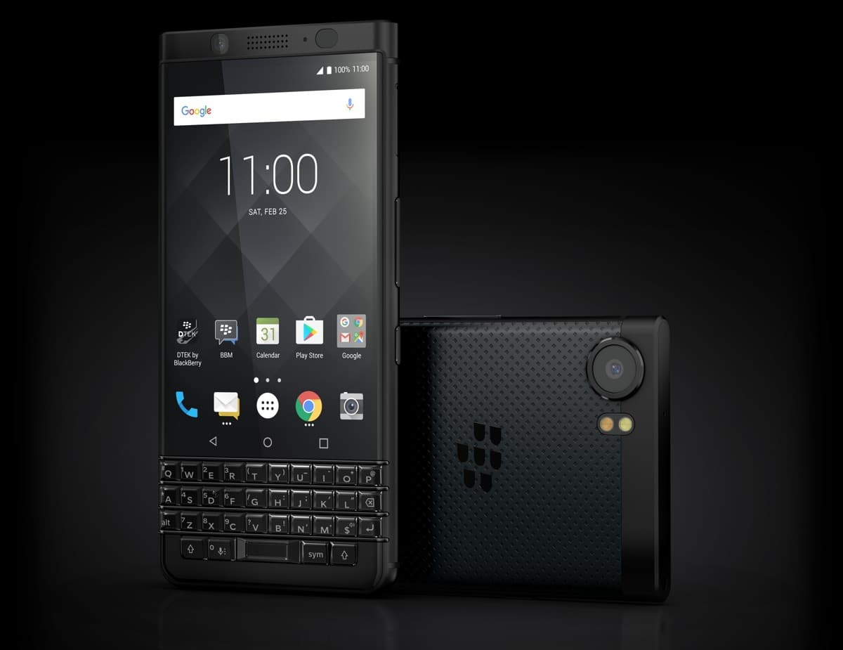 blackberry keyone black edition clavier