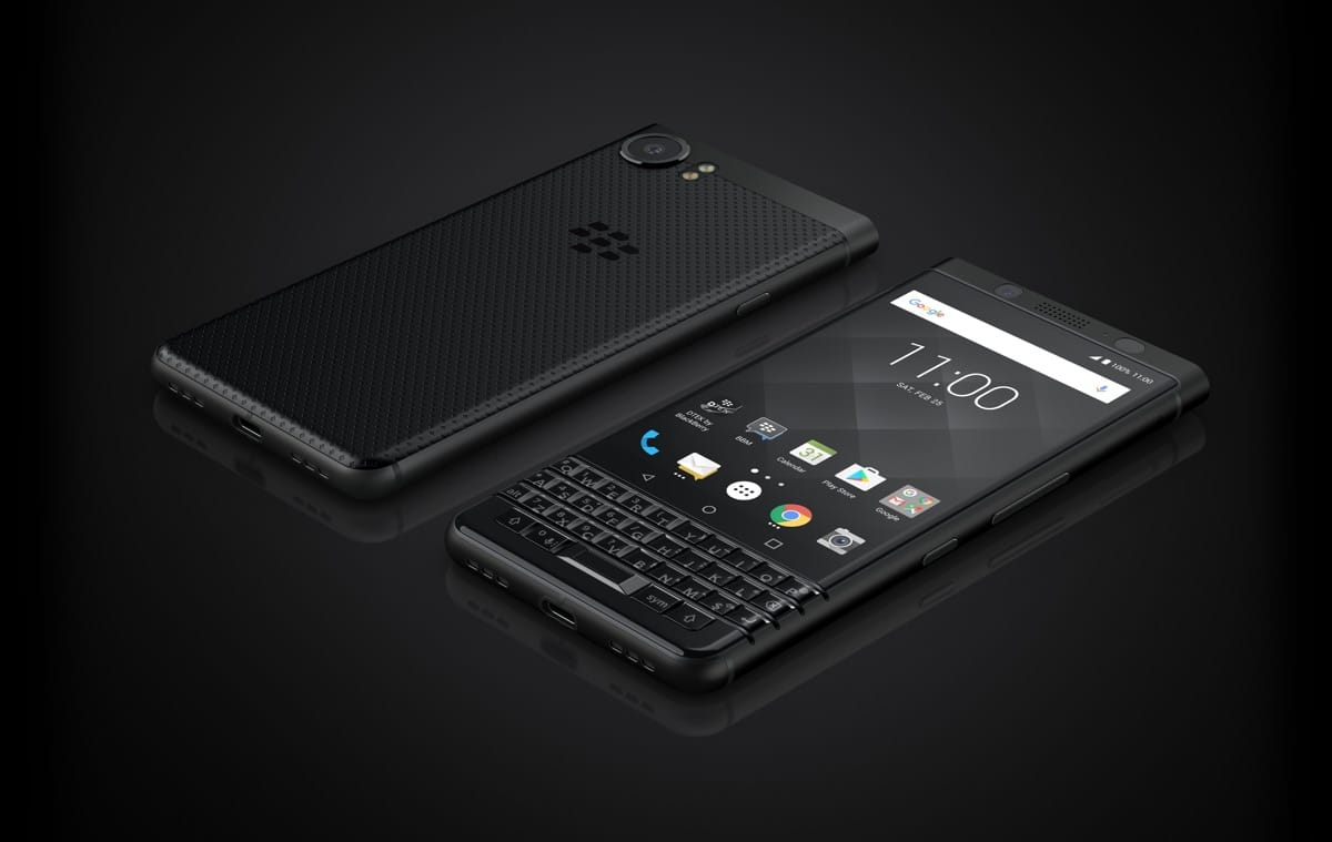 blackberry keyone black edition design
