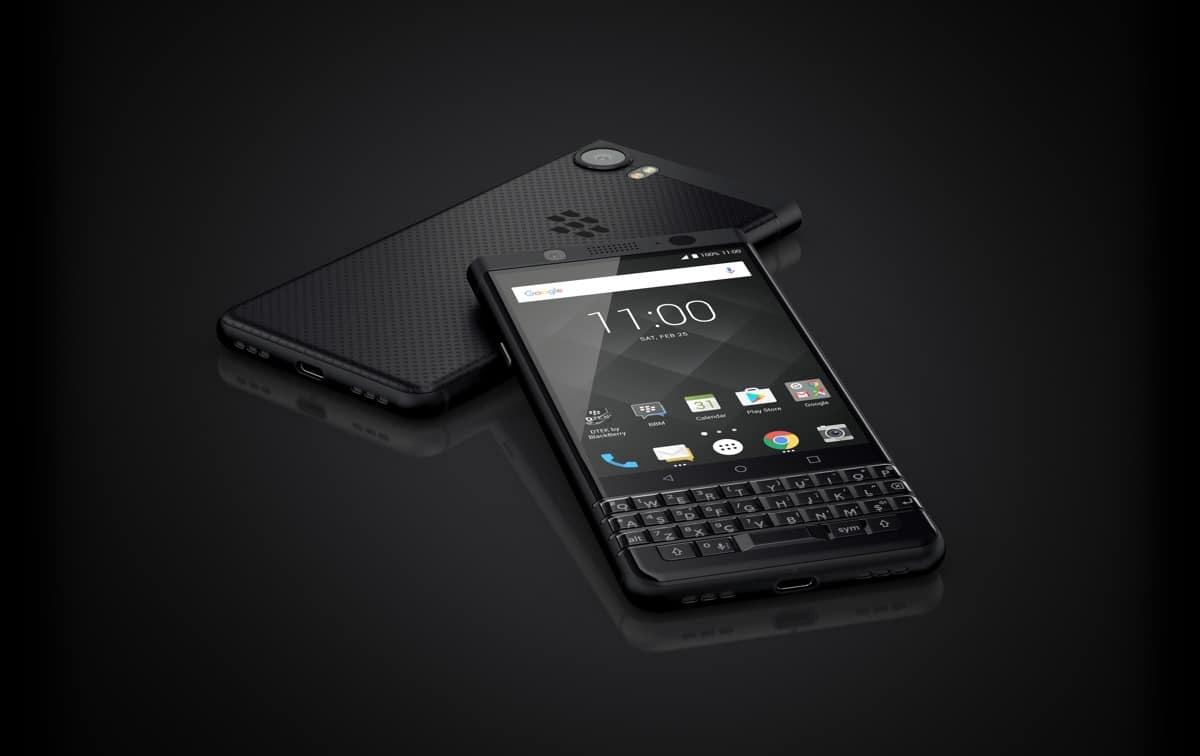 blackberry keyone black edition officiel