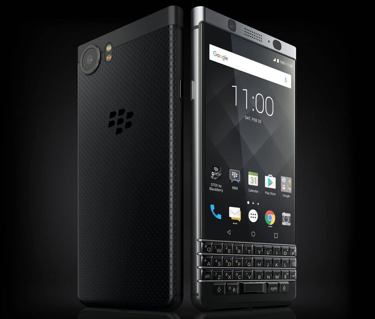blackberry keyone black edition photo