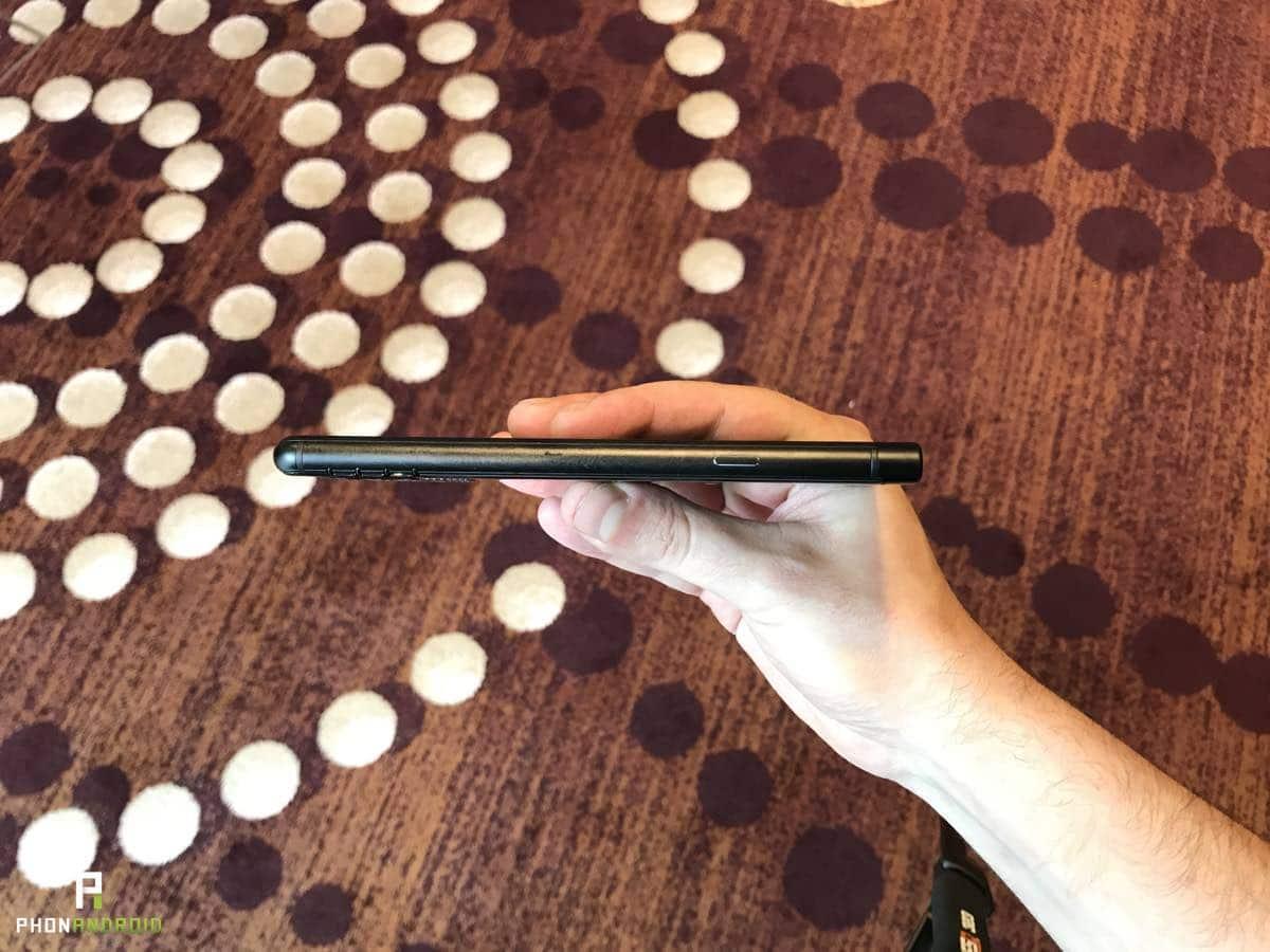 blackberry keyone black edition prix