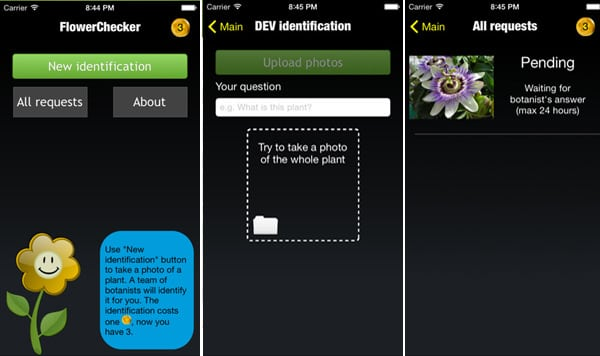 flower-checker jardinage android