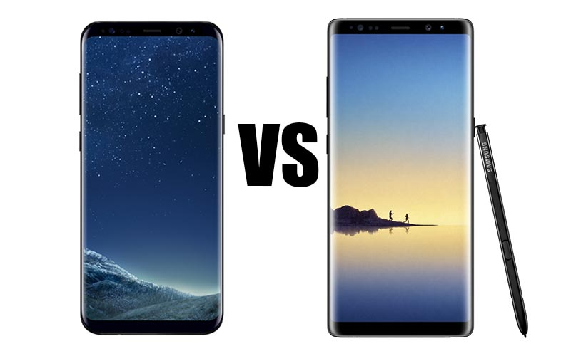 Galaxy Note 8 VS S8+
