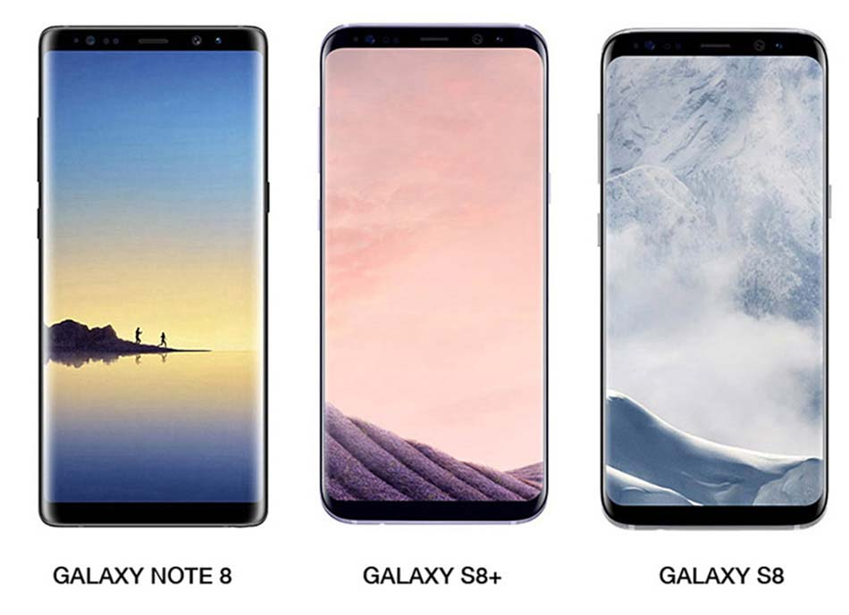 galaxy note 8 vs galaxy s8 s8 des changements subtils. Black Bedroom Furniture Sets. Home Design Ideas