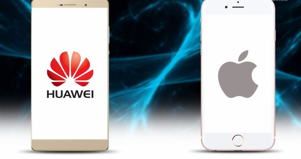 huawei surpasse apple europe