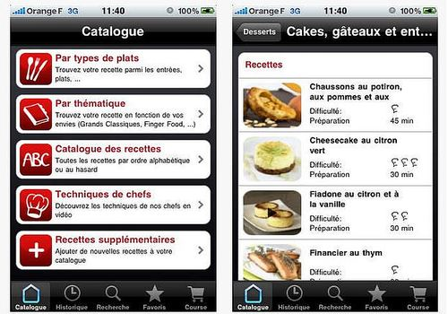 ichef android cuisine