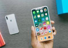 iphone 8 prise main
