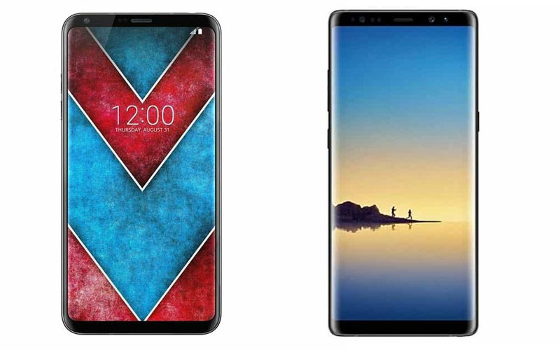 LG V30 VS Galaxy Note 8