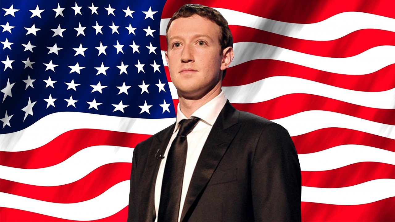 mark zuckerberg 2020 président usa