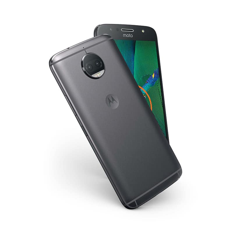 moto g5s plus lenovo double capteur photo design smartphone