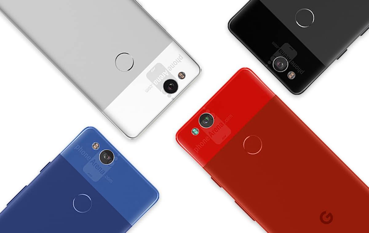 google pixel 2 coloris