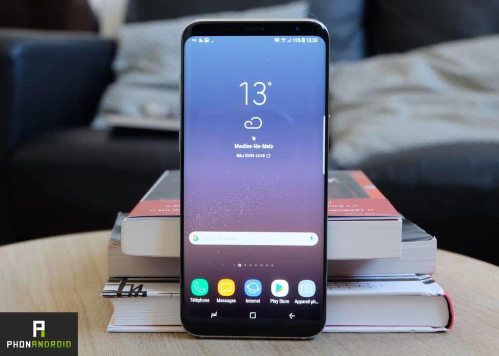galaxy s8 le smartphone android le plus vendu actuellement. Black Bedroom Furniture Sets. Home Design Ideas