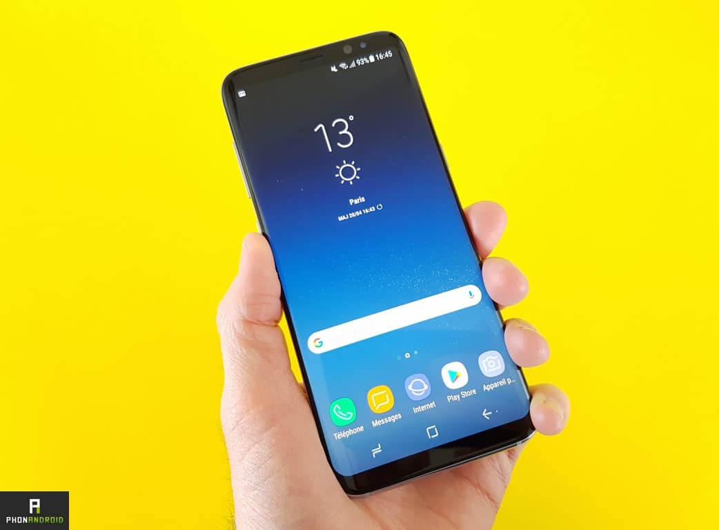 samsung galaxy s9 puissance