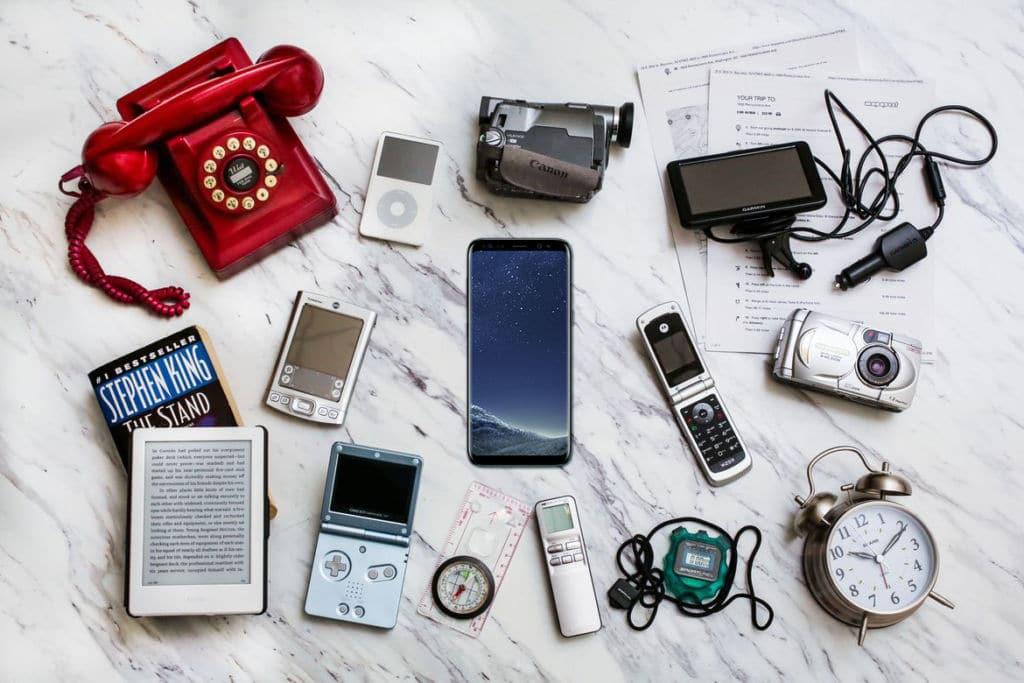 smartphones gadgets inutiles