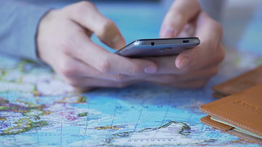 smartphone voyage economiser