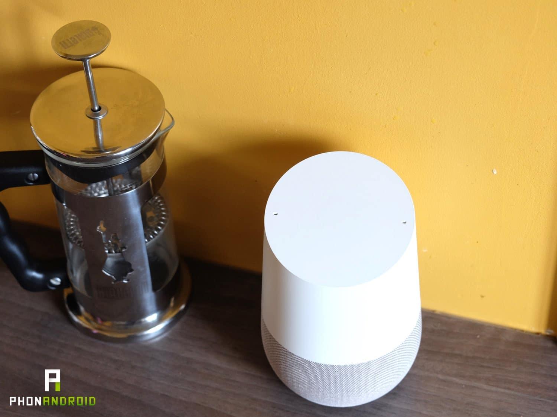 test google home design