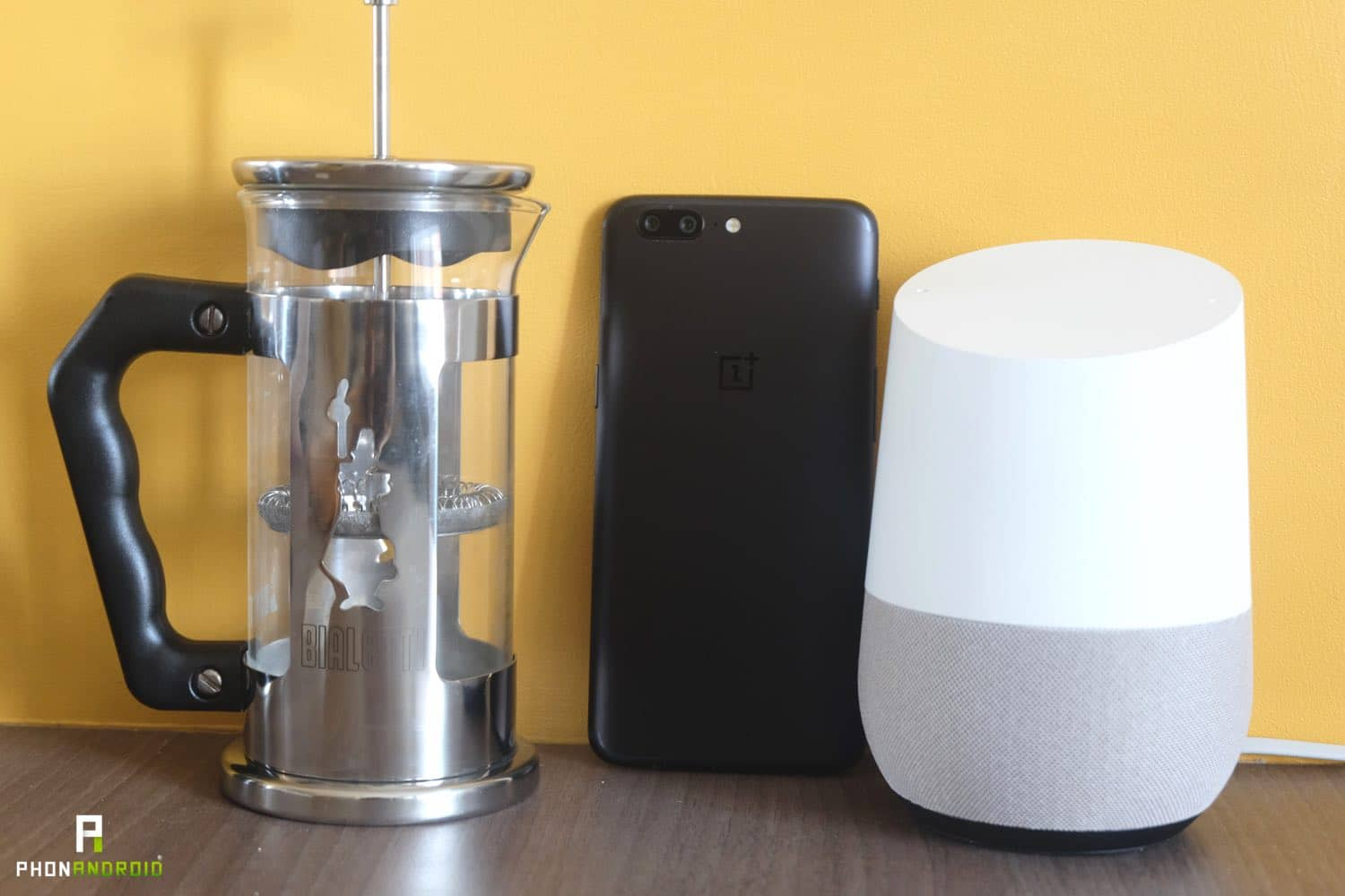 test google home dimensions