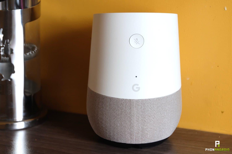 test google home installation