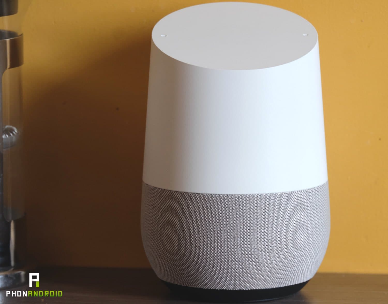 test google home prix
