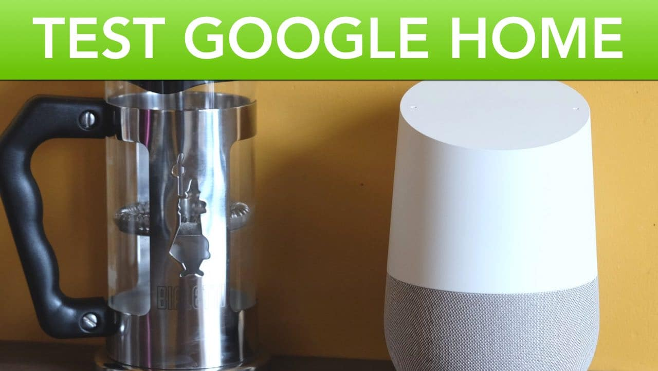test video google home