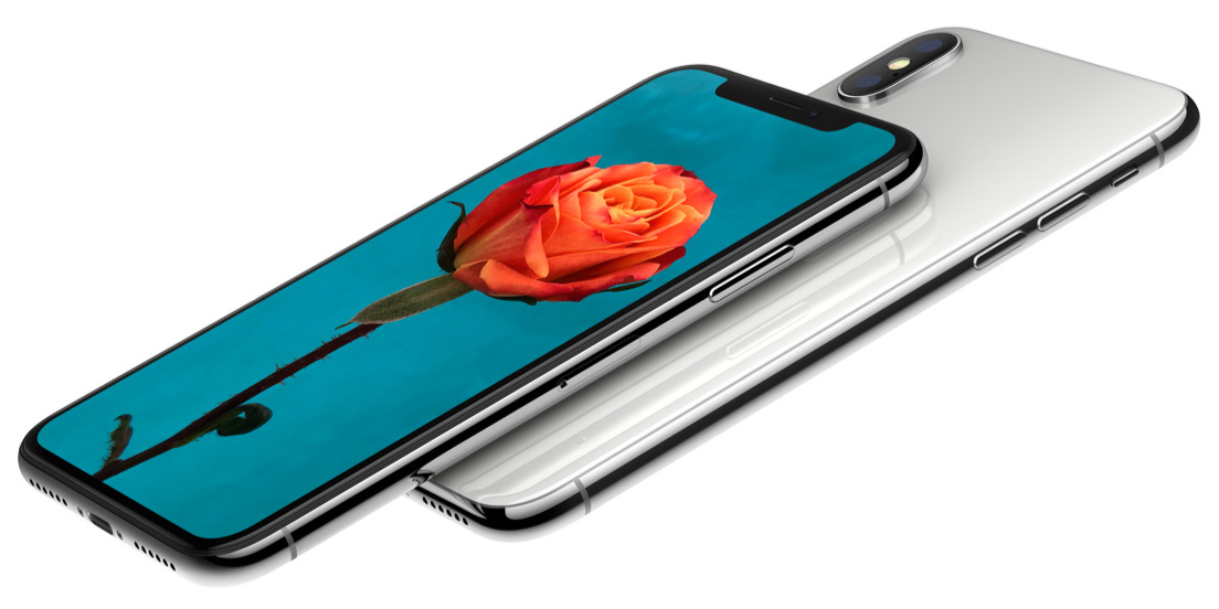 apple iphone x design ecran