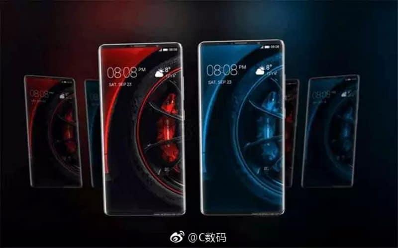 Huawei Mate 10 Pro rendu